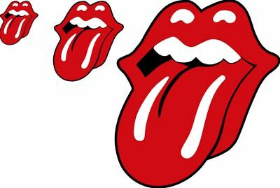 Stones Lips and Tongue Vinyl Decal Car Window Wall Sticker CHOOSE SIZE COLOR