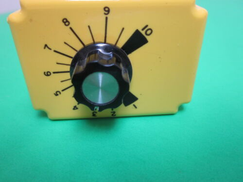 Potter /& Brumfield CGD-38-30010M Time Delay Relay Lot of 2 1-10 min