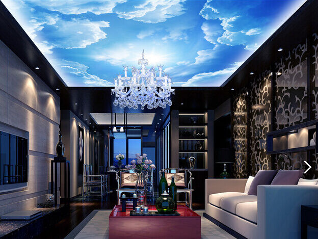 3D Sun Sky Cloud 723 Ceiling WallPaper Murals Wall Print Decal Deco AJ WALLPAPER