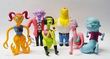 Charles Burns - Monster Teens Time Capsule Figures Full Set NEW Sealed 2003 L@@K