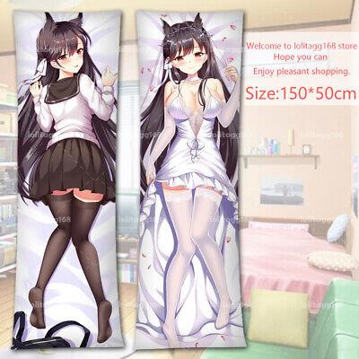 26.99$ Free shipping for Azur Lane Takao Anime Dakimakura