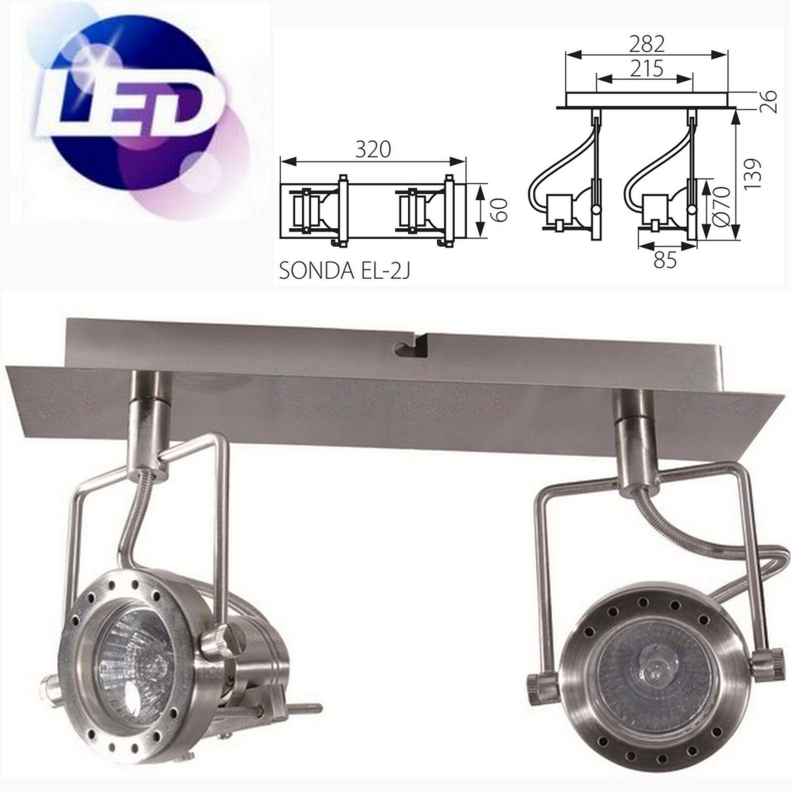 Kanlux Designer Led Rétro Moderne Scène Projecteur Style Style Projecteur GU10 Clair 1 2 3 4 5e75a4