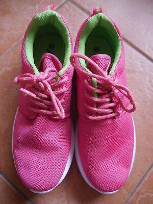 AIDELE Sneaker Schuhe Damenschuhe Sportschuhe Freizeit pink grün neu Größe 38 | eBay