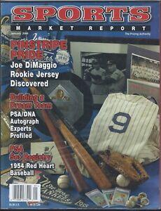 SMR-Sports-Market-Report-PSA-DNA-Guide-Magazine-NY-YANKEES-JAN-2006-USED