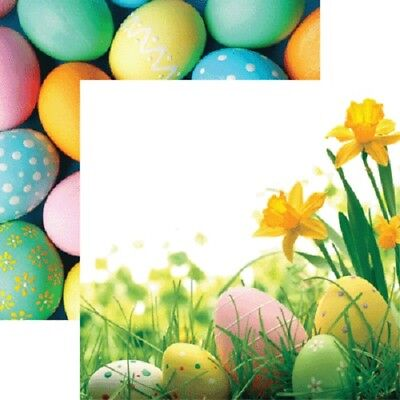 """Hot Off The Press /""""Easter Eggs/"""" 12x12  Paper Pizazz"""