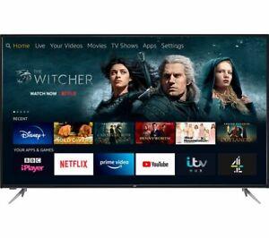"JVC LT-65CF890 Fire TV Edition 65"" Smart 4K Ultra HD HDR LED TV Amazon Alexa"