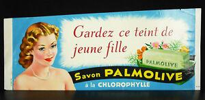 Keep-Este-Maquillaje-Joven-Nina-Jabon-Palmolive-Cartel-Original-de-Publicidad