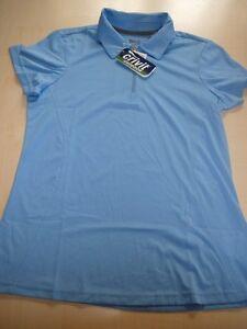 NEU-Crivit-Outdoor-tolles-Damen-Funktionsshirt-Gr-S-36-38-hellblau-Poloshirt