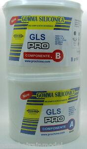 Gomma siliconica gls pro prochima x stampi elastici for Gomma siliconica prochima