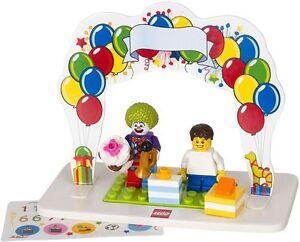 Details about LEGO MINIFIGURE BIRTHDAY SET CAKE TOPPER -MINI FIGURE PARTY  DECORATION - NO BOX!