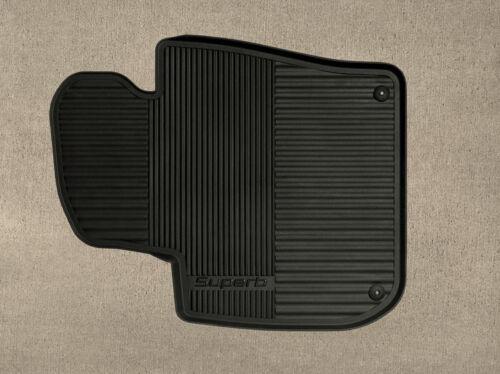Original skoda alfombrillas de goma skoda superb 2 3t conjunto 4 unidades negro