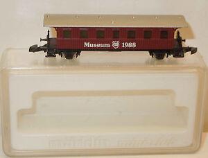 Märklin mini-club Museumwagen 1988 (2)