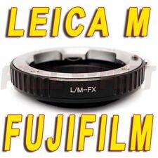ADATTATORE OBIETTIVI LEICA M FUJIFILM FUJI FOTOCAMERA X-PRO1 X-E2 X-E1 X-M1 X-A1