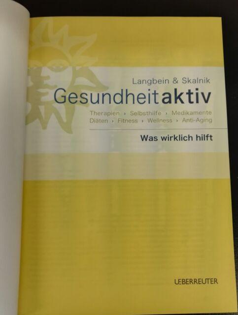Gesundheit aktiv, m. CD-ROM von Christian Skalnik und Kurt Langbein (2005, Gebu…