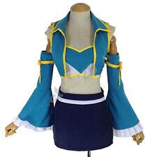 Anime Fairy Tail Lucy Heartfilia 7 Years Later Dress Cosplay Costume Custom-made