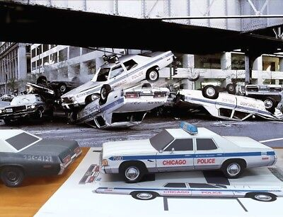 Papercraft Blues Brothers Dodge Royal Monaco Chicago Police paper car  EZU-make | eBay