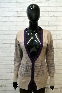REPLAY-Cardigan-Maglione-in-Angora-Donna-Taglia-Size-L-Pullover-Lana-Sweater-Man