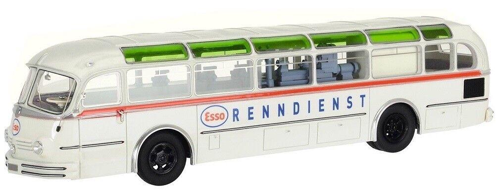 SCH9673 - Bus publicitaire MERCEDES BENZ O6500 H aux couleurs ESSO édité à 1000