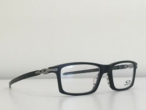 a4d5d58a78 Details about 71 Oakley OX8092-0153 PITCHMAN CARBON Eyeglasses Satin Black  53-18-138 With Case