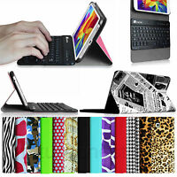 Bluetooth Keyboard Leather Case Cover For Samsung Galaxy Tab 4 7.0 7-inch Tablet