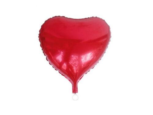 Folienballon Herz rot Geburtstag Luftballon Helium Ballon Party Deko  T71178