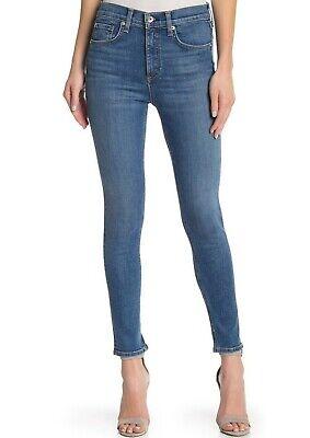 $ 195 Nwt Rag & Knochen Sz29 Halbhoher Knöchel Skinny Stretch Denim Jeans El Extrem Effizient In Der WäRmeerhaltung