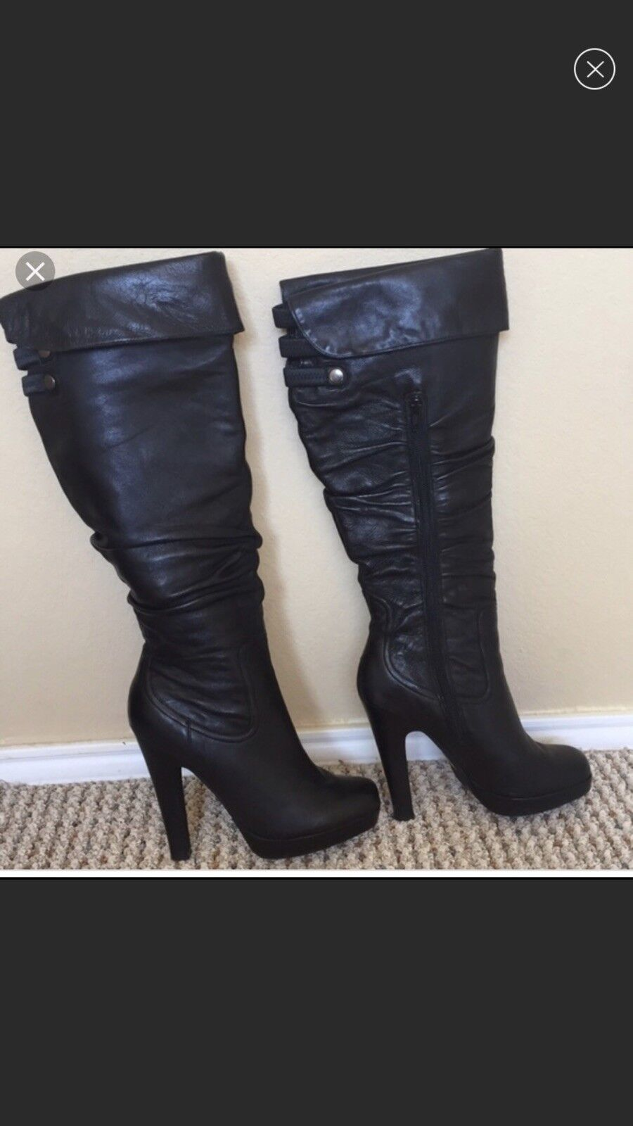 Jessica Simpson Knee High Stiefel Stiefel Stiefel 380279