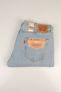 33421 Levi's Levi Strauss 501 Straight Leg Button Fly Hommes Jean Taille 38/34