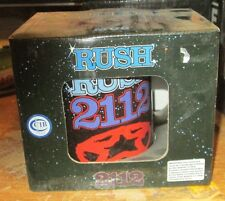 RUSH MUG COLLECTABLE RARE VINTAGE  LICENSED NEW IN BOX