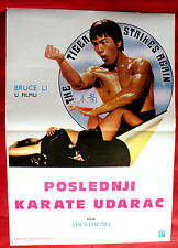 IRON DRAGON STRIKES BACK 1979 BRUCE LI MARTIAL ARTS KUNG FU EXYU MOVIE POSTER