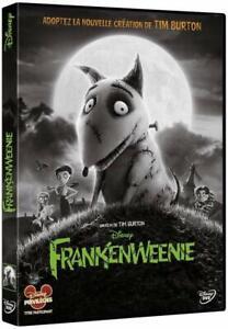 Frankenweenie-DVD-NEUF-SOUS-BLISTER-Tim-Burton-Walt-Disney