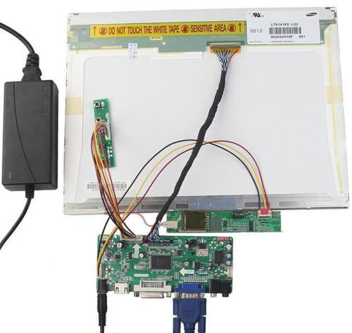 "HDMI+DVI+VGA LCD Controller board Kit for QD15XL06 1024X768 Panel monitor 15/"""