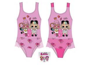 LOL Surprise Puppen Badeanzug Mädchen Bikini 116 122 128 134 140 152 NEU
