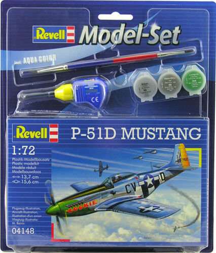 REVELL 04148 Model set N.A P-51D Nustang  scala 1//72