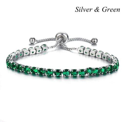 Les femmes Wrap Mariage Bijoux AAA Zircon Cuff Bangle Réglable Bracelet Bridal