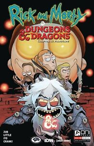 Rick-and-Morty-Vs-D-amp-D-II-Painscape-1-Cover-A-Oni-Press-Comics-1st-Print-2019-NM