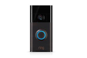 Ring Wireless Video Doorbell Sensor Smart Phone Voice Security 2Way Speaker 720P