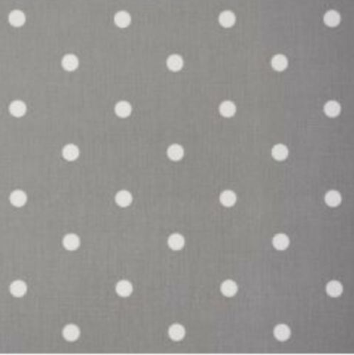 Per Meter Smoke Grey Spot design PVC coated superb quality Oilcloth fabric