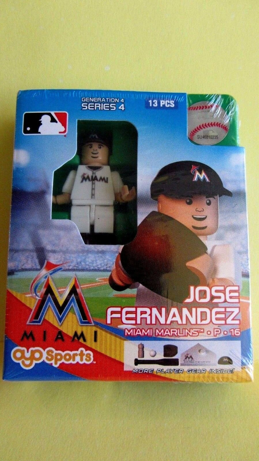 BRAND NEW OYO SPORTS MARLINS JOSE FERNANDEZ MINI FIGURE SERIES 4 COLLECTIBLE
