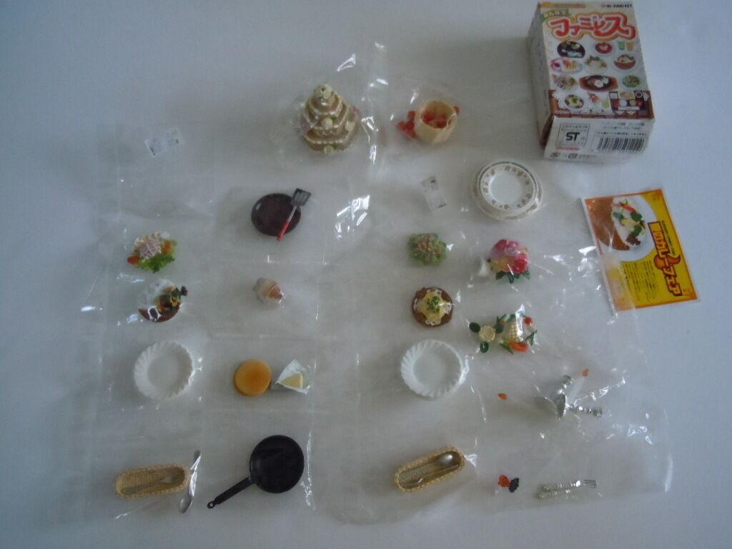 súper Raro conjunto lote de alimentos, placas, pastel de bodas, Cesta De Frutas Para Muñecas Barbie, Licca