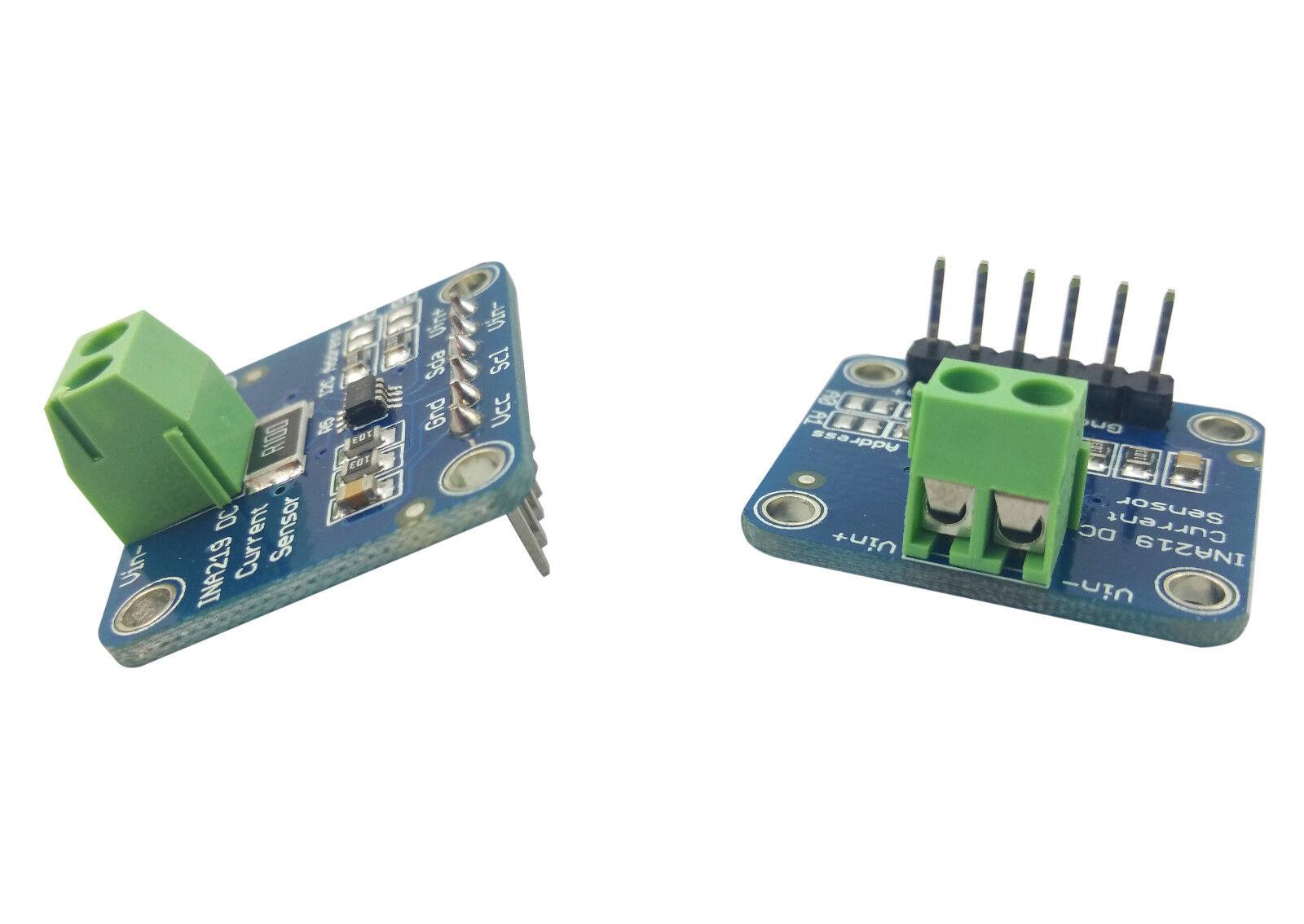 2pcs Ina219 Dc Current Sensor Voltage Test Module Breakout Board I2c Sensing Relay Nz For Arduino