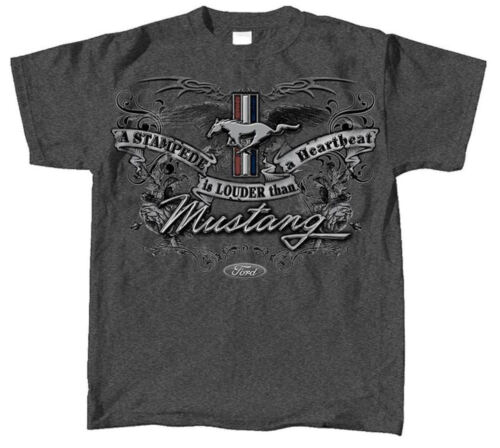 FORD Mustang Emblema T Shirt Officially Licensed