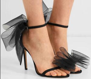 Womens-High-Heels-Lace-Sandals-Peep-Toe-Satin-Stiletto-Party-Shoes-Wedding-Pumps