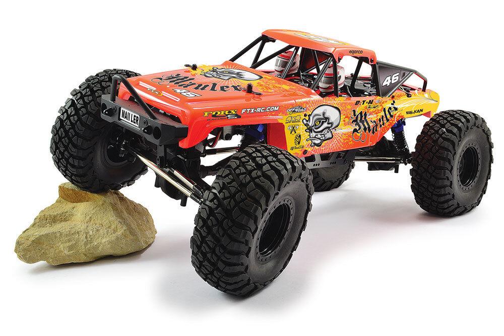 FTX Mauler (Rojo) 4X4 Rock Crawler cepillado 1 10 listo para correr RC coche FTX5575R