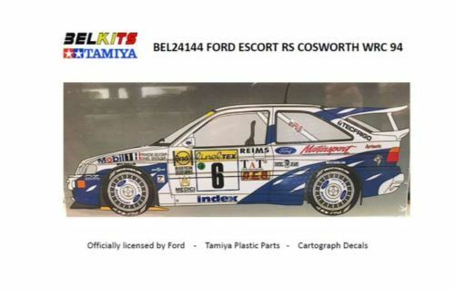 24144 1 24 scale 1994 WRC Ford Escort RS Cosworth by Tamiya   Belkits