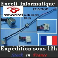 Conector dc jack alambre de cable Packard Bell Easynote TM80 TM81 TM83 TM87 TM92