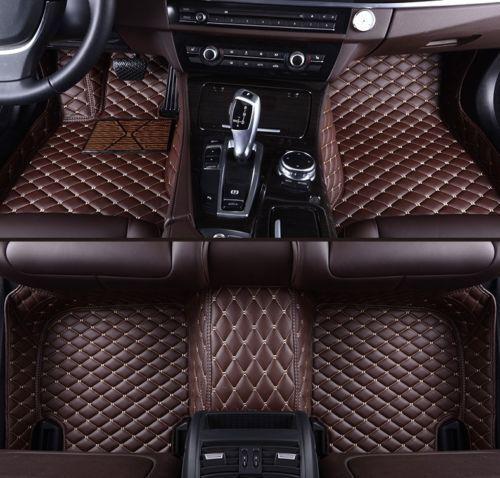 For Audi A1 A3 A4 A5 A6 A7 A8 Car Floor Mats Carpets Waterproof Auto Mats 06-18