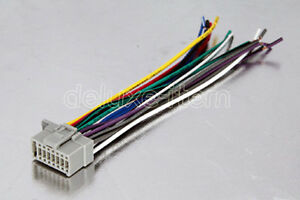 s l300 panasonic cq c8303u c8405u c1305u wire harness pa16 02 ebay panasonic cq-c1305u wiring harness at panicattacktreatment.co