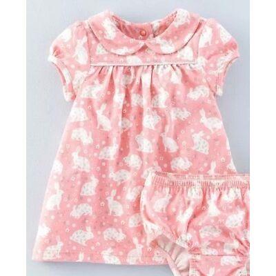 Ex Baby Boden Pretty Collar Jersey Dresses 0-3 3-6 6-12 12-18 18-24 2-3 3-4Yrs