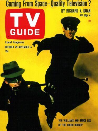 1960s TV GUIDE magazine THE GREEN HORNET replica fridge magnet - new!